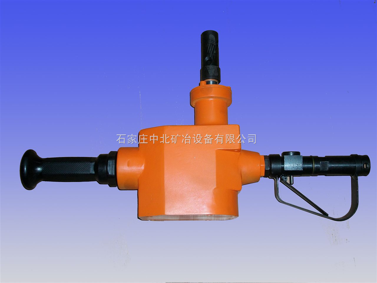ZQS-65/2.5架柱支撑气动手持式钻机