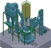 HD-1500型桂林重晶石微粉磨粉机