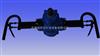 ZQSJ-100架柱支撑气动手持式钻机(气动防突钻机)